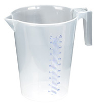 Sealey JT5000 Measuring Jug Translucent 5ltr