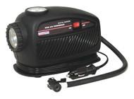 Sealey MAC23250 Mini Air Compressor with Emergency Light 12V