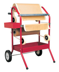 Sealey MK66 Masking Paper Dispenser 2 x 450mm Trolley