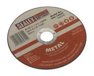 Sealey PTC/100CT Cutting Disc åø100 x 1.6mm 16mm Bore