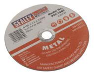 Sealey PTC/180C Cutting Disc åø180 x 3mm 22mm Bore