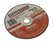 Sealey PTC/3C Cutting Disc åø75 x 2mm 10mm Bore