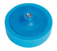 "Sealey PTC/CH/5/8-B Buffing & Polishing Foam Head åø150 x 50mm 5/8""UNC Blue/Medium"