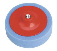 Sealey PTC/CH/M14-B Buffing & Polishing Foam Head åø150 x 50mm M14 x 2mm Blue/Medium