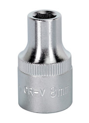 "Sealey S1208 WallDriveå¬ Socket 8mm 1/2""Sq Drive"
