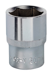 "Sealey S1220 WallDriveå¬ Socket 20mm 1/2""Sq Drive"