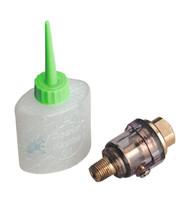 "Sealey SA111 Mini In-Line Air Tool Oiler 1/4""BSP with Filler"