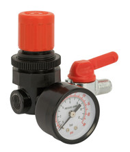 "Sealey SA5/RG/14 Air Regulator 1/4""BSP Female - 1/4""BSP Male"