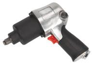 """Sealey SA602 Air Impact Wrench 1/2""""Sq Drive Twin Hammer"""