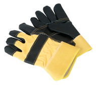 Sealey SSP13 Rigger's Gloves Hide Palm Pair