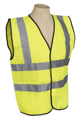 Sealey SSPHV-XL High Visibility Waistcoat BS EN 471 Extra Large