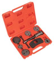 Sealey VS028 Brake Piston Wind-Back Tool Kit 8pc