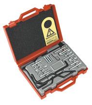 Sealey VS121 Diesel/Petrol Engine Setting/Locking Kit 25pc - Citroen, Peugeot - Belt Drive