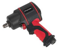 """Sealey SA6002 Air Impact Wrench 1/2""""Sq Drive Twin Hammer"""