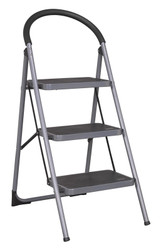 Sealey ASL23 Step Stool 3-Tread 150kg Capacity EN 14183