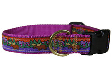 Maine Moose Collar and Leash (Purple)