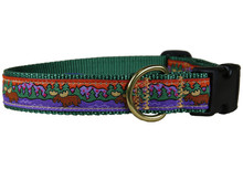 Maine Moose Collar and Leash (Green)