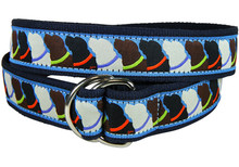 Labrador Retriever Ladies Ribbon Belt