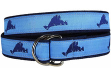 Martha's Vineyard Ribbon Ladies Belt
