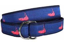 Nantucket Ribbon Ladies Belt