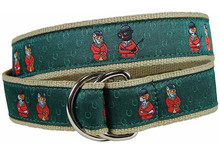 Fox and Hound Ribbon Ladies Belt
