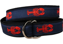 Lobster Ribbon Ladies Belt