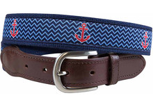 Anchor Belt (Leather Tab)