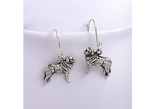 Bernese Mt Dog Earrings