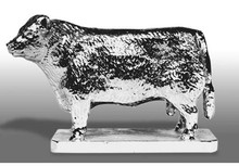 Hereford Bull Hood Ornament