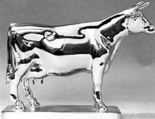 Friesian Cow Hood Ornament