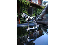 Goodwood Thoroughbred Horse Hood Ornament (Large)