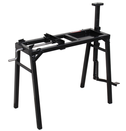 Portable anvil stand with vice -  folding legs