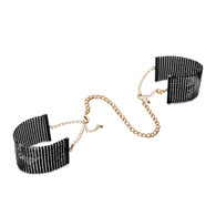 Desir Metallique Mesh Handcuffs - Black