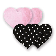 Bristols 6 - Pretty Pink Heart A/B Nippies