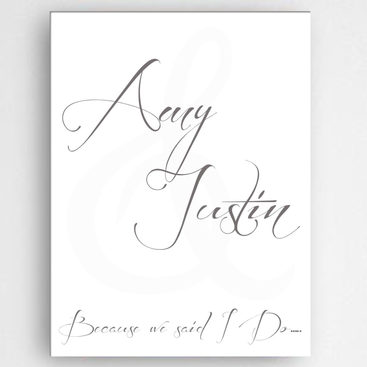Australian Wedding Anniversary Gifts By Year: Personalized Couples Anniversary Wall Art