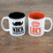 couple's personalized mugs - you are my cup of tea