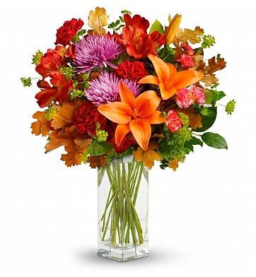 Fall Anniversary Bouquet