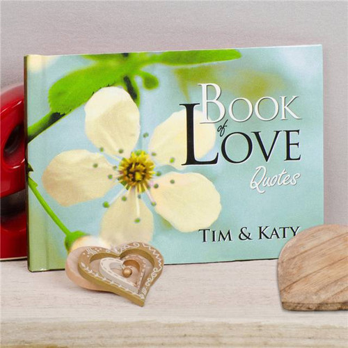 Personalized front cover of the Book of Love