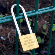 Personalized Love Lock - perfect for their hobby