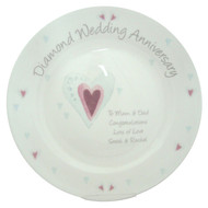 personalized anniversary plates by year