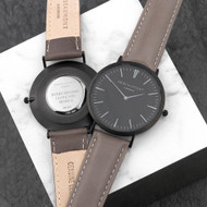 Personalized Men's Anniversary Watch in Ash
