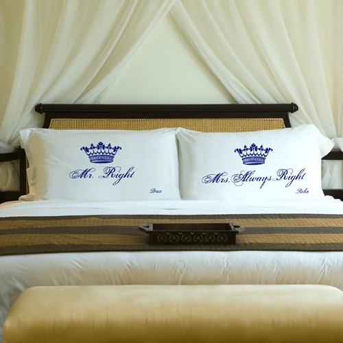 Personalized Mr Amp Mrs Always Right Pillow Cases From Top