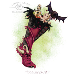 The Wicked Witch Stocking