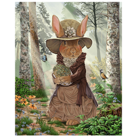 Miss Tittles Rabbit Shabby Chic Decor