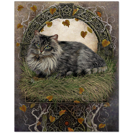 Beautiful Celtic Cat Art