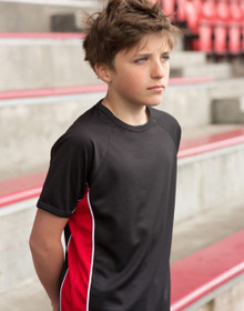 Childs Performance Panel Tee Shirt   5 - 12 year old