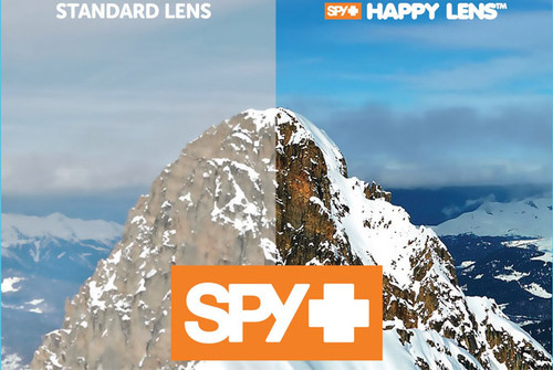HOW THE SPY HAPPY LENS WORKS FOR SUNGLASSES & GOGGLES