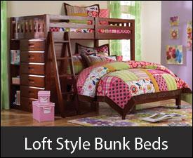 Loft Style Bunk Beds