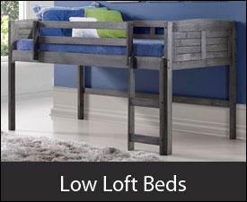 Low Loft Beds