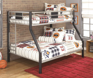 Dinsmoor Twin over Full Bunk Bed | Ashley Furniture | AS-B106-56